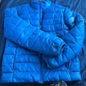 Blue Cozy Puff Jacket